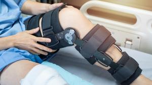 knee injury ROM brace
