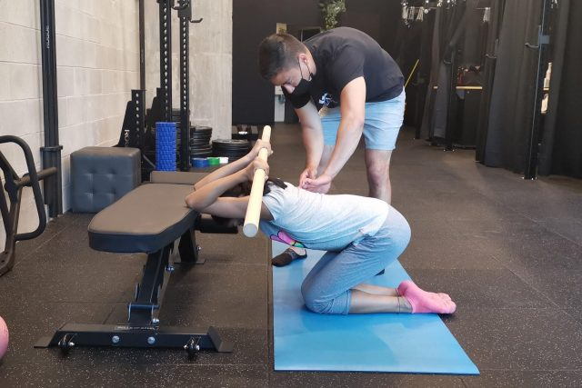 developing strength and conditioning with Vancouver strength coach Max at Lift