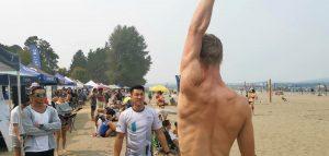 shoulder pain beach volleyball