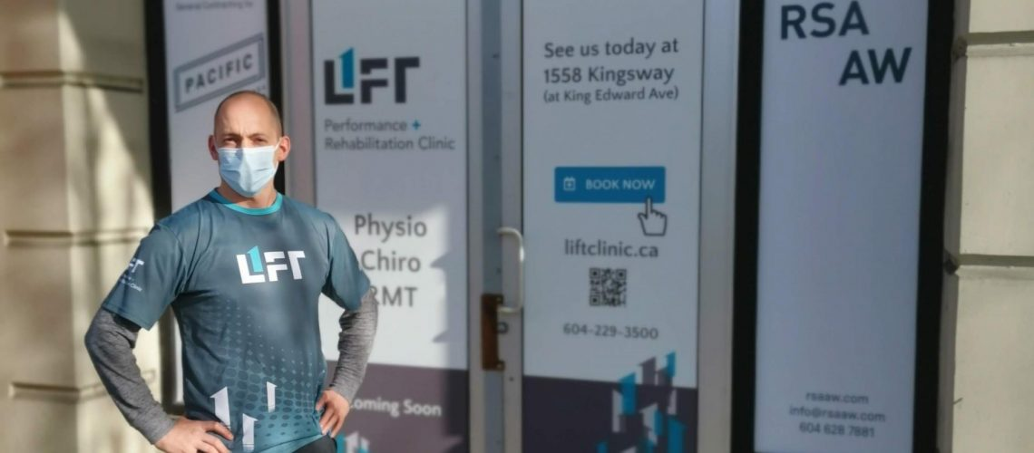 New Lift Clinic Vancouver New Location with Owner Travis Dodds
