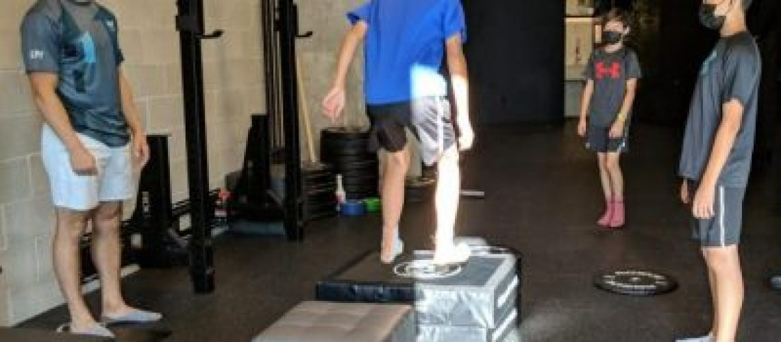 Youth Strength and Conditioning at Lift Clinic in Vancouver